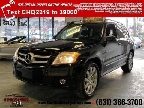 2012 Mercedes-Benz GLK for sale at CERTIFIED HEADQUARTERS in St James NY