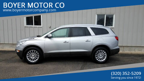 2012 Buick Enclave for sale at BOYER MOTOR CO in Sauk Centre MN