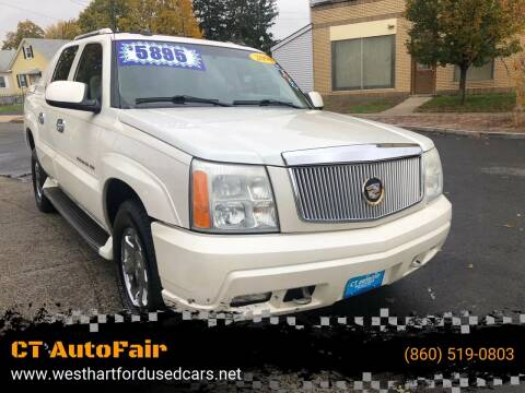 2004 Cadillac Escalade EXT for sale at CT AutoFair in West Hartford CT