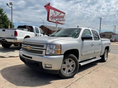 2012 Chevrolet Silverado 1500 for sale at Southwest Car Sales in Oklahoma City OK