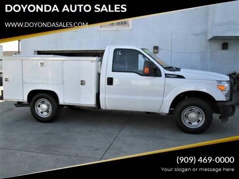 2014 Ford F-250 for sale at DOYONDA AUTO SALES in Pomona CA