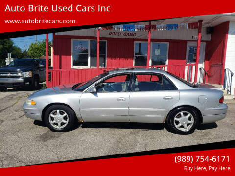 2004 Buick Regal for sale at Auto Brite Used Cars Inc in Saginaw MI