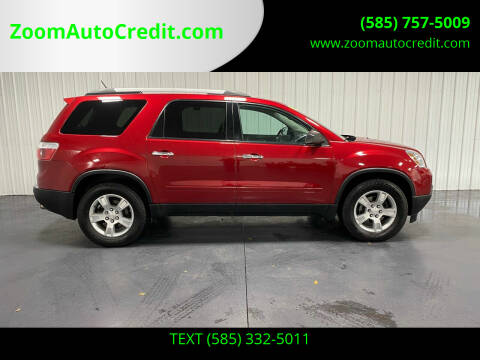 2012 GMC Acadia for sale at ZoomAutoCredit.com in Elba NY