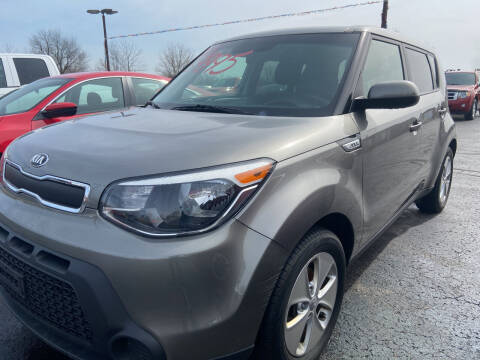 2016 Kia Soul for sale at EAGLE ONE AUTO SALES in Leesburg OH