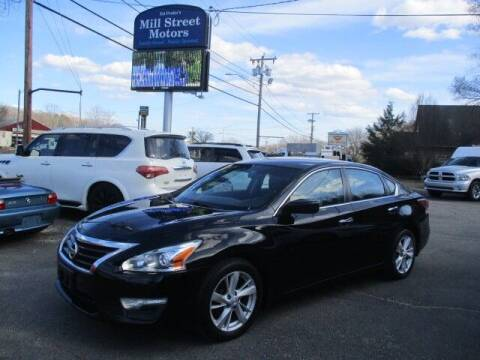 2014 Nissan Altima for sale at Mill Street Motors in Worcester MA