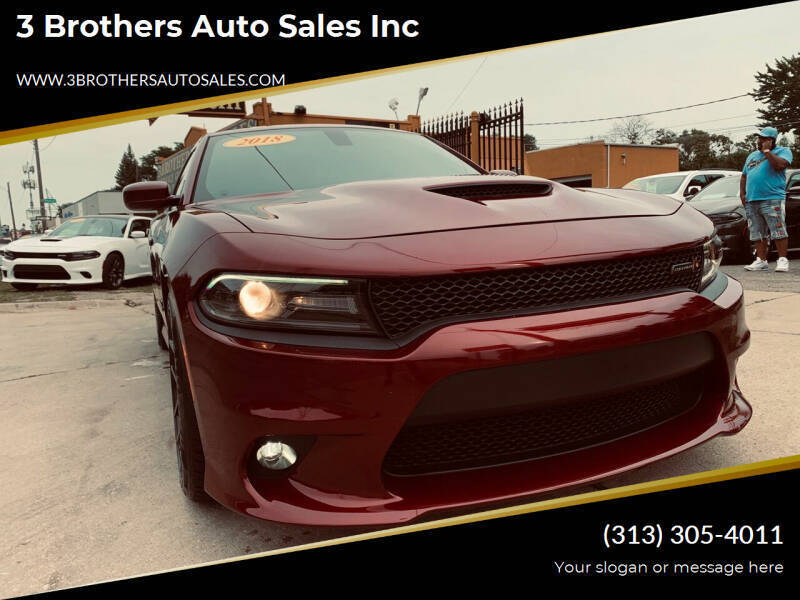 2018 Dodge Charger for sale at 3 Brothers Auto Sales Inc in Detroit MI