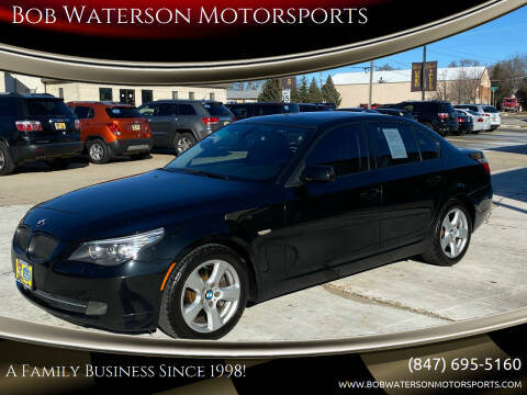 2008 BMW 5 Series for sale at Bob Waterson Motorsports in South Elgin IL