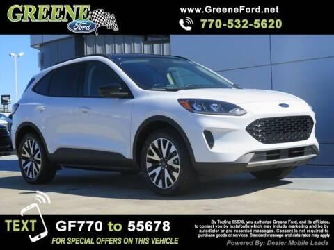 2020 Ford Escape Hybrid for sale at Nerd Motive, Inc. - NMI in Atlanta GA