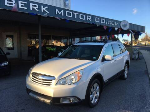 2010 Subaru Outback for sale at Berk Motor Co in Whitehall PA