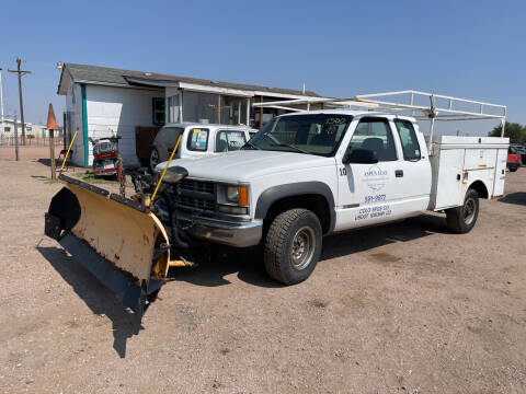 1998 Chevrolet C/K 2500 Series for sale at PYRAMID MOTORS - Fountain Lot in Fountain CO
