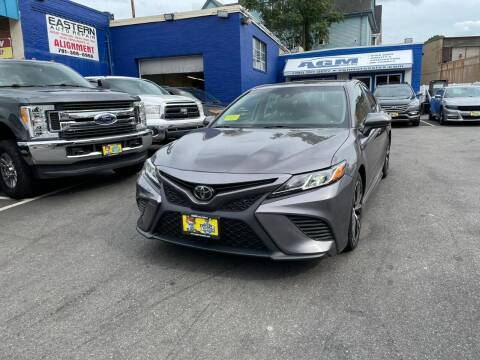 2018 Toyota Camry for sale at AGM AUTO SALES in Malden MA