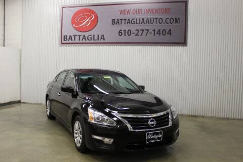 2015 Nissan Altima for sale at Battaglia Auto Sales in Plymouth Meeting PA