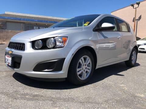 2012 Chevrolet Sonic for sale at Cars 2 Go in Clovis CA