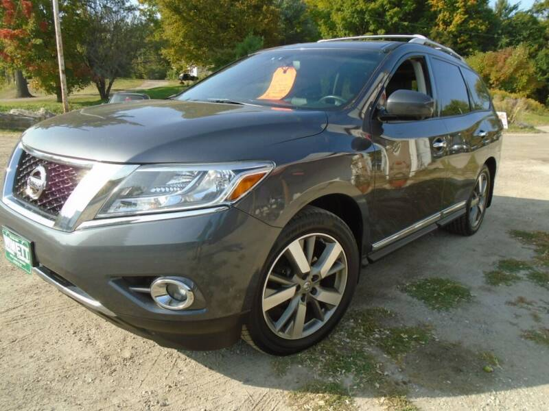 2014 Nissan Pathfinder for sale at Wimett Trading Company in Leicester VT