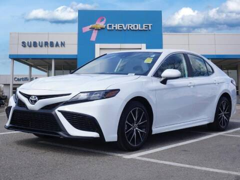 2021 Toyota Camry for sale at Suburban Chevrolet of Ann Arbor in Ann Arbor MI