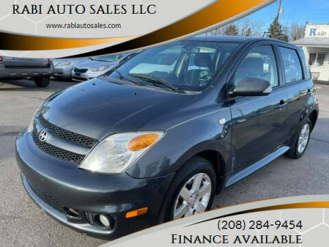 2006 Scion xA for sale at RABI AUTO SALES LLC in Garden City ID