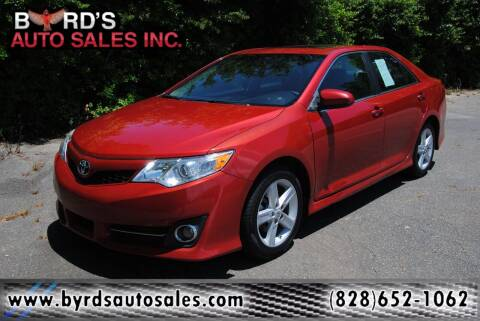 2013 Toyota Camry for sale at Byrds Auto Sales in Marion NC