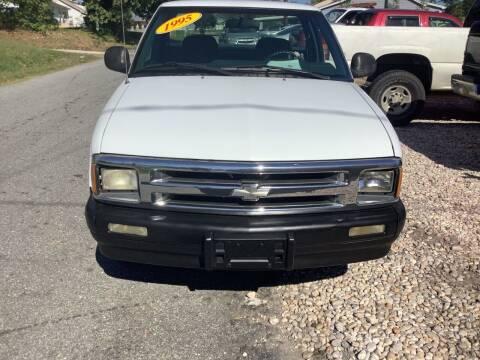 1995 Chevrolet S-10 for sale at Moose Motors in Morganton NC