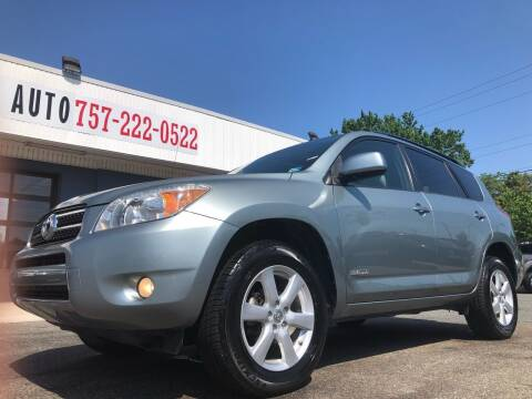 2007 Toyota RAV4 for sale at Trimax Auto Group in Norfolk VA