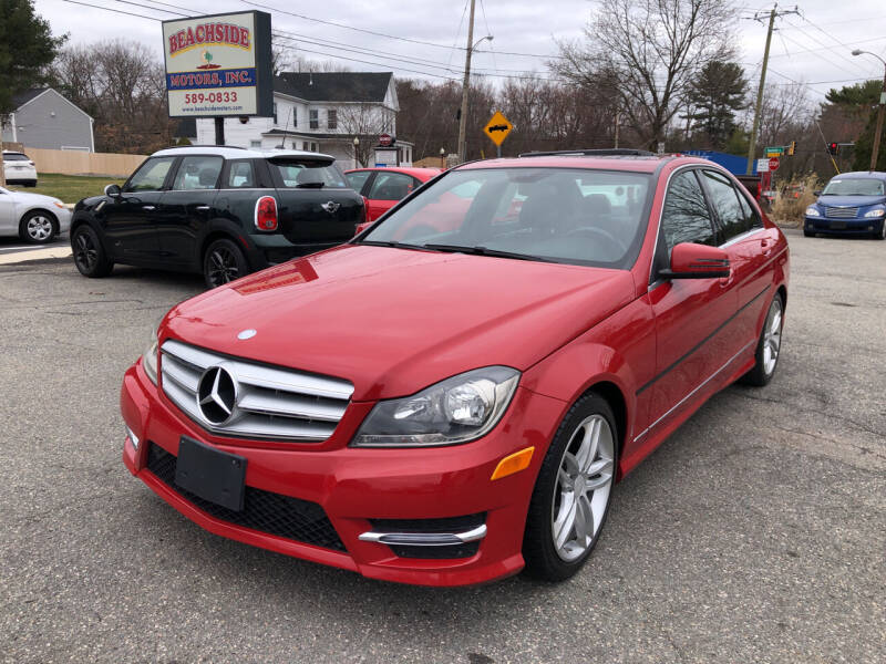 2014 Mercedes-Benz C-Class for sale at Beachside Motors, Inc. in Ludlow MA