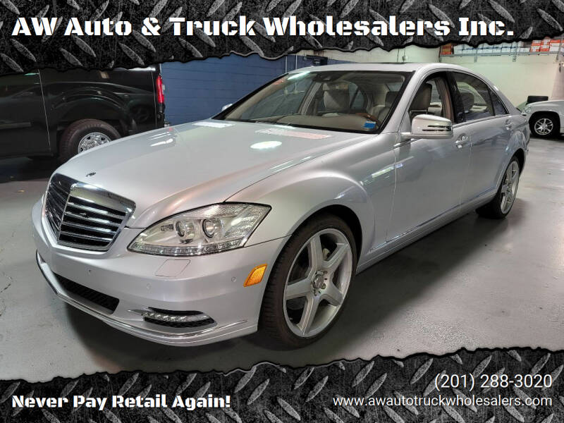 2010 Mercedes-Benz S-Class for sale at AW Auto & Truck Wholesalers  Inc. in Hasbrouck Heights NJ