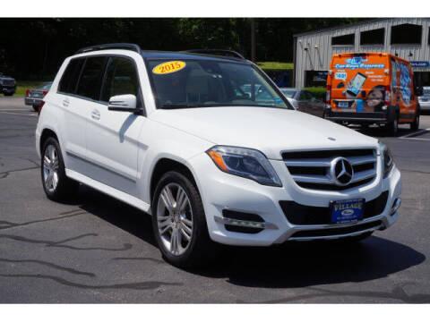 2015 Mercedes-Benz GLK for sale at VILLAGE MOTORS in South Berwick ME