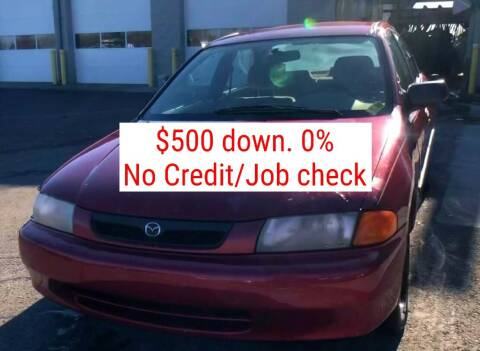 1998 Mazda Protege for sale at D & J AUTO EXCHANGE in Columbus IN