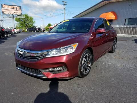 2016 Honda Accord for sale at Moores Auto Sales in Greeneville TN