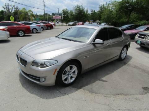 2013 BMW 5 Series for sale at S & T Motors in Hernando FL
