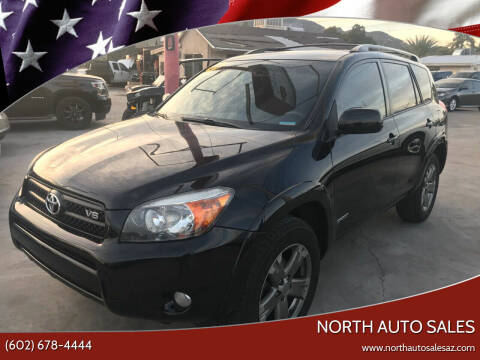 2008 Toyota RAV4 for sale at North Auto Sales in Phoenix AZ