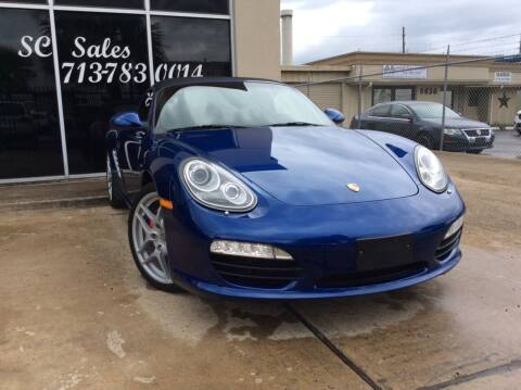 2009 Porsche Boxster for sale at SC SALES INC in Houston TX