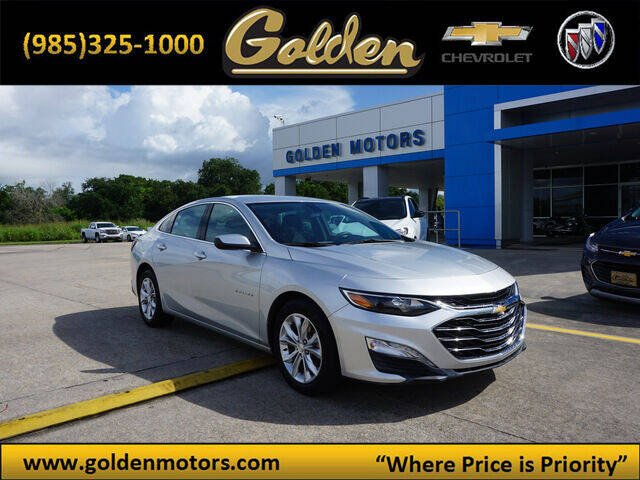 2019 Chevrolet Malibu for sale at GOLDEN MOTORS in Cut Off LA