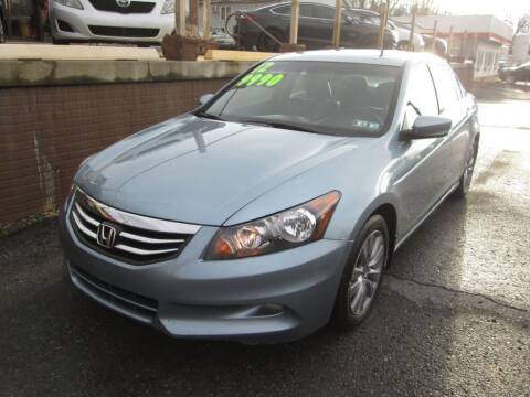 2012 Honda Accord for sale at WORKMAN AUTO INC in Pleasant Gap PA