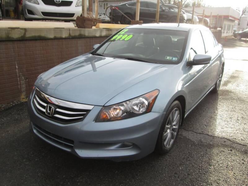 2012 Honda Accord for sale at WORKMAN AUTO INC in Pleasant Gap PA