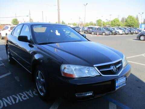 2003 Acura TL for sale at Choice Auto & Truck in Sacramento CA