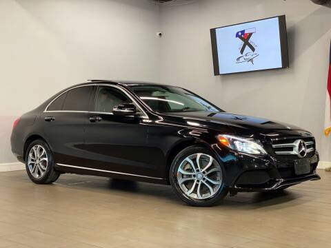 2015 Mercedes-Benz C-Class for sale at TX Auto Group in Houston TX