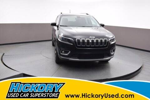 2019 Jeep Cherokee for sale at Hickory Used Car Superstore in Hickory NC