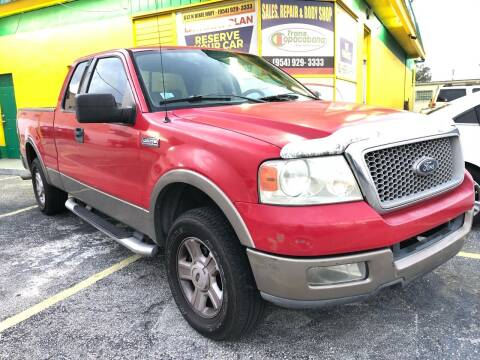 2004 Ford F-150 for sale at Trans Copacabana Auto Sales in Hollywood FL