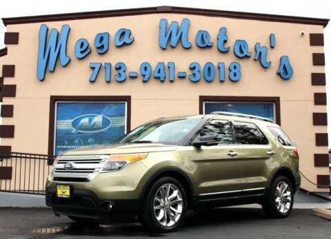 2013 Ford Explorer for sale at MEGA MOTORS in South Houston TX