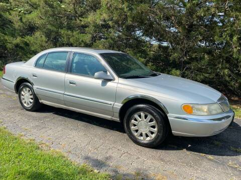 2001 Lincoln Continental for sale at Kansas Car Finder in Valley Falls KS