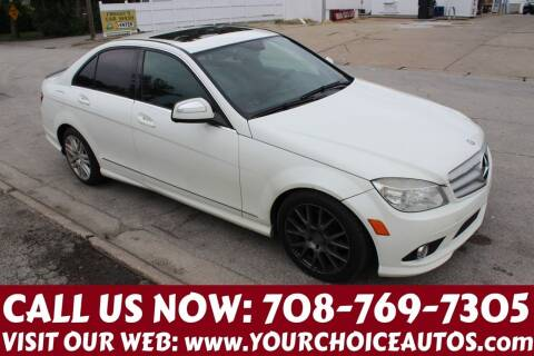 2009 Mercedes-Benz C-Class for sale at Your Choice Autos in Posen IL