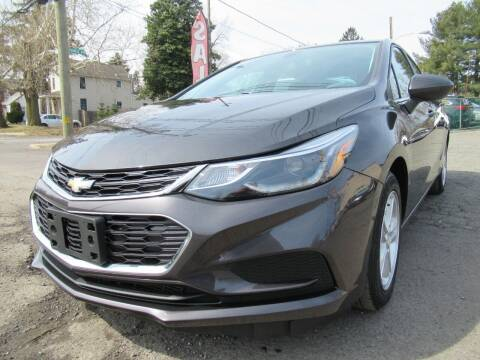 2016 Chevrolet Cruze for sale at PRESTIGE IMPORT AUTO SALES in Morrisville PA