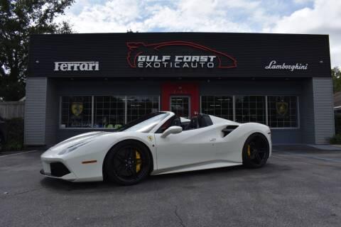 2018 Ferrari 488 Spider for sale at Gulf Coast Exotic Auto in Biloxi MS