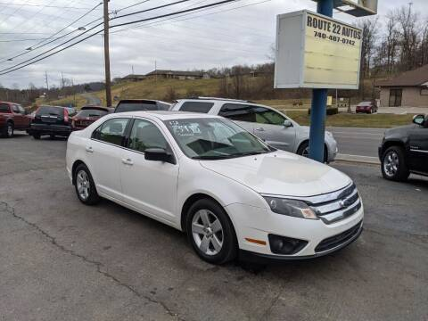 2012 Ford Fusion for sale at Route 22 Autos in Zanesville OH