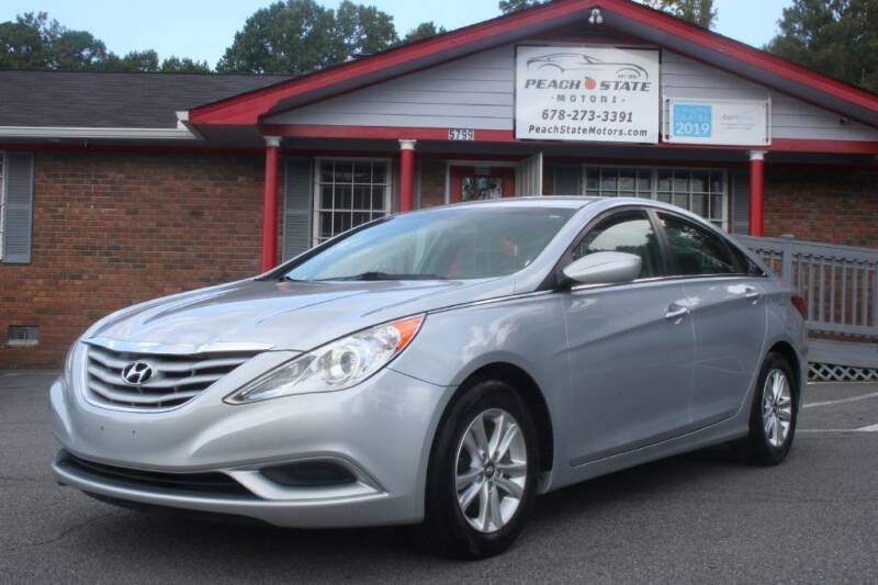 2013 Hyundai Sonata for sale at Peach State Motors Inc in Acworth GA
