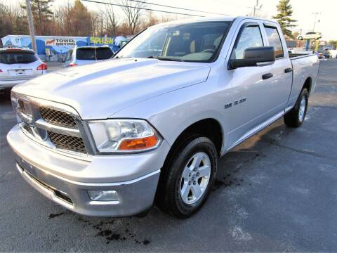 2009 Dodge Ram Pickup 1500 for sale at Route 12 Auto Sales in Leominster MA