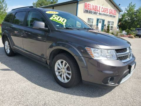 2014 Dodge Journey for sale at Reliable Cars Sales in Michigan City IN