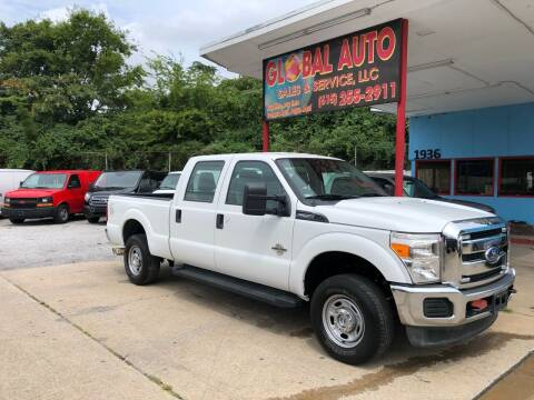 2013 Ford F-250 Super Duty for sale at Global Auto Sales and Service in Nashville TN