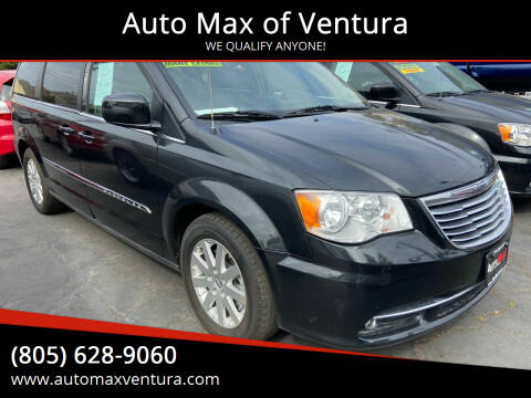 2016 Chrysler Town and Country for sale at Auto Max of Ventura in Ventura CA