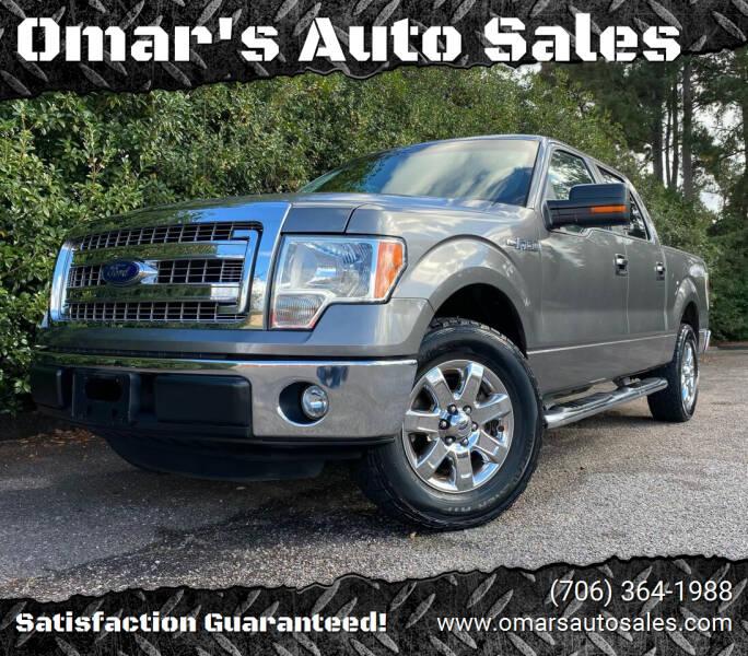 2013 Ford F-150 for sale at Omar's Auto Sales in Martinez GA